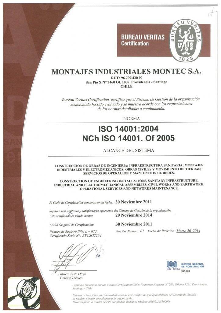 Normas ISO 4